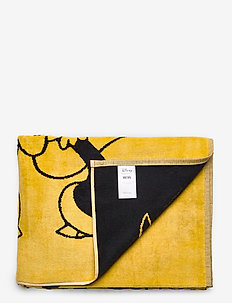 Lenny towel - towels - yellow