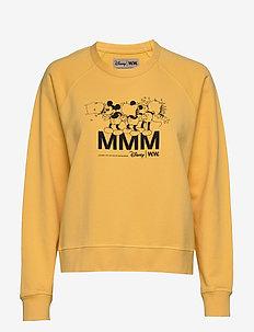 Jerri sweatshirt - sweatshirts - yellow