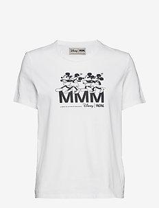 Aria T-shirt - bedrukte t-shirts - bright white