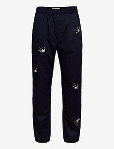 Hampus trousers - NAVY