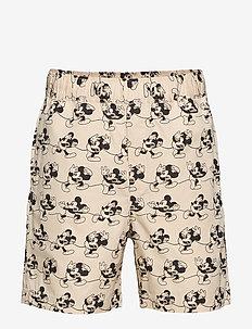 Hamilton shorts - krótkie spodenki - beige aop