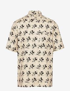 Thor shirt - krótki rękaw - beige aop