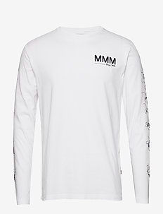 Peter long sleeve - basic t-shirts - bright white