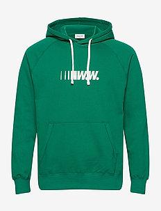 Fred hoodie - hupparit - green