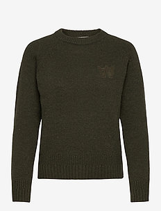 Asta jumper - truien - dark green