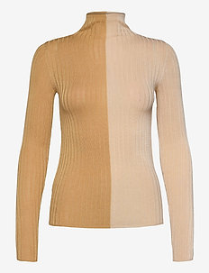 Jona turtleneck - turtlenecks - khaki