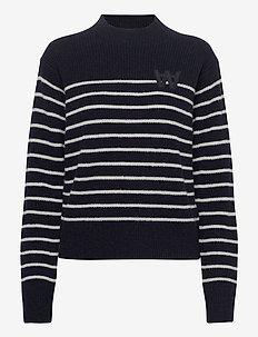 Anneli jumper - trøjer - navy stripes