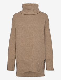 Pauline jumper - turtlenecks - khaki