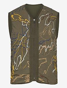 Victor vest - veste - green aop