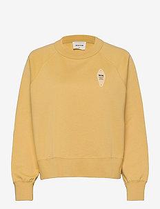 Hope sweatshirt - sweatshirts - yellow