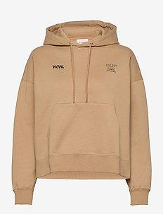 Mary hoodie - hættetrøjer - khaki