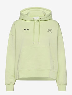 Mary hoodie - hættetrøjer - light green