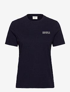 Aria T-shirt - t-shirts - navy