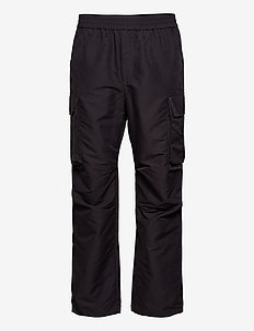 Halsey trousers - cargohose - dark grey