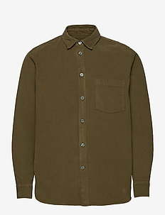 Aske shirt - basic skjorter - dark green