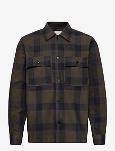 Franco shirt - overshirts - green check