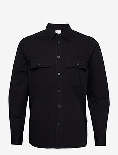 Avenir shirt - overshirts - black