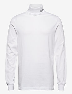 Austin turtleneck - perus t-paidat - bright white