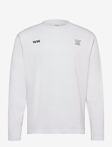Anakin long sleeve - langærmede t-shirts - bright white