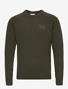 Kevin jumper - basic-strickmode - dark green