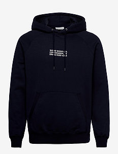 Fred hoodie - sweats basiques - navy