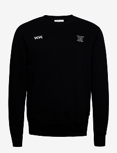 Hugh sweatshirt - basic sweatshirts - black