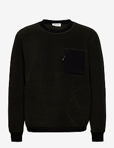 Gorm sweater - basic sweatshirts - dark green