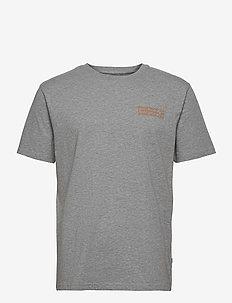 Info T-shirt - basis-t-skjorter - grey melange