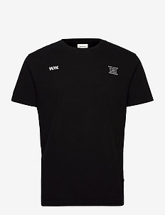 Voyages T-shirt - kortærmede t-shirts - black
