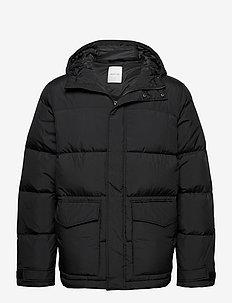 Sander jacket - fôrede jakker - black