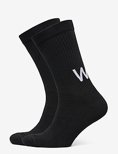 Gail 2-pack socks - regulære sokker - black