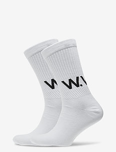 Gail 2-pack socks - regulære sokker - bright white