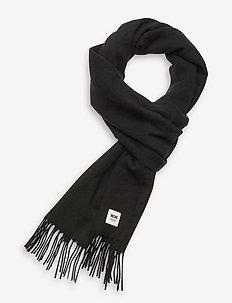 Karlo scarf - schals - black