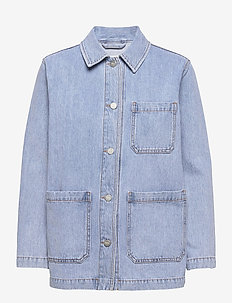 Mary-Ann denim jacket - denimjakker - heavy vintage wash
