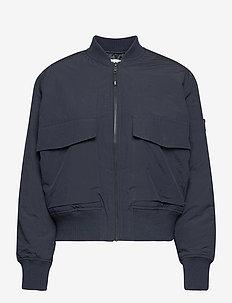 Athene compact nylon jacket - bomber jakker - navy