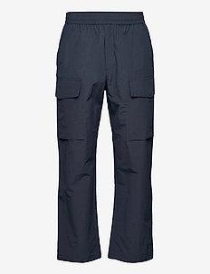 Halsey nylon trousers - cargobukser - navy
