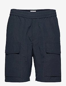 Ollie nylon shorts - cargo shorts - navy