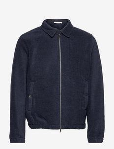 Alister fleece jacket - mid layer jackets - navy