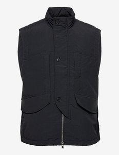 Tarik tech vest - jakker og frakker - black