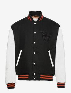 Gabriel varsity jacket - bomberjackor - black