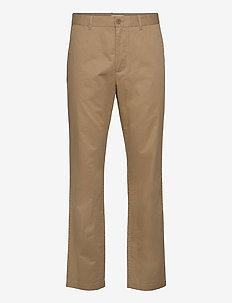 Marcus light twill trousers - chino's - khaki