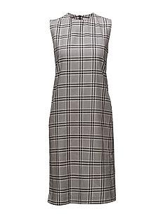 Thelma dress - NAVYCHECK