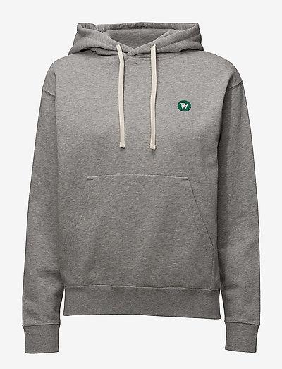 Jenn hoodie - gensere og hettegensere - grey melange