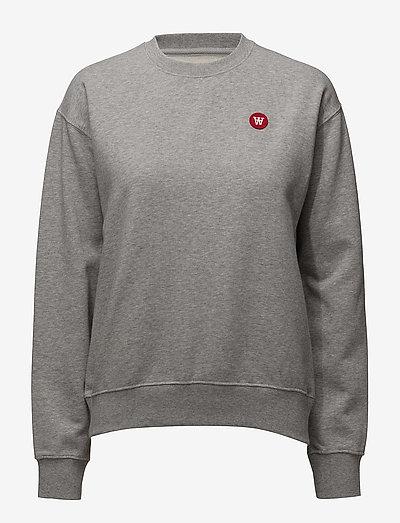 Jess sweatshirt - sweatshirts - grey melange