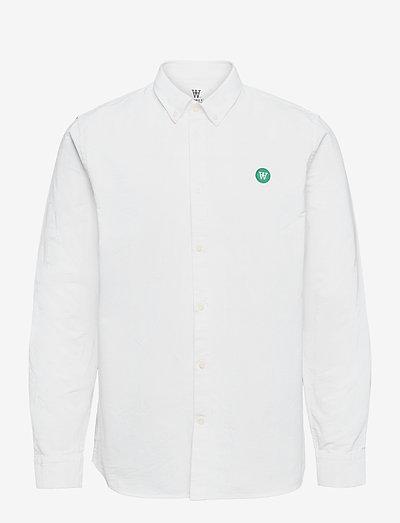 Ted shirt - denim shirts - bright white