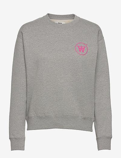 Jess sweatshirt - sweatshirts & hættetrøjer - grey melange
