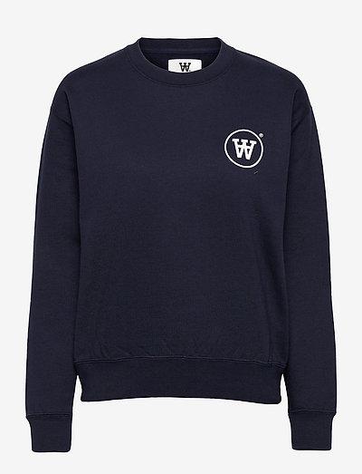 Jess sweatshirt - sweatshirts & hættetrøjer - navy