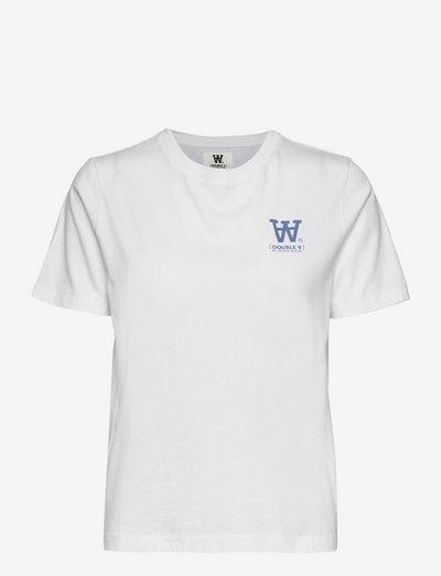 Mia T-shirt - t-shirts - white/blue print