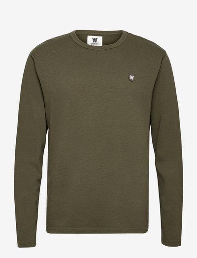 Mel long sleeve - hauts - slate grey/green
