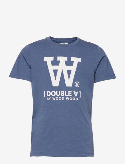 Ola kids T-shirt - kortärmade - vintage blue